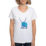 Betty the Beetle Women's V-Neck T-Shirt