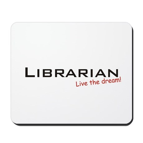Librarian / Dream! Mousepad