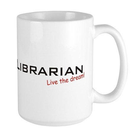 Librarian / Dream! Large Mug