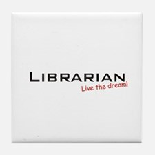 Librarian / Dream! Tile Coaster