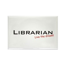Librarian / Dream! Rectangle Magnet