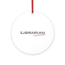 Librarian / Dream! Ornament (Round)