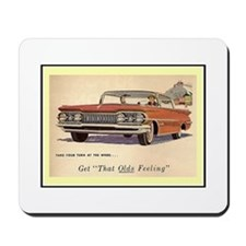 """1959 Olds Ad"" Mousepad"
