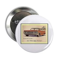 """1959 Olds Ad"" 2.25"" Button"