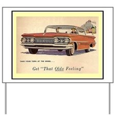 """1959 Olds Ad"" Yard Sign"