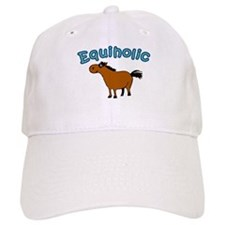 Equiholic. Horse Addict Baseball Cap