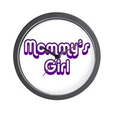 Mommy's Girl Wall Clock