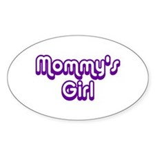 Mommy's Girl Oval Decal