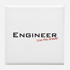 Engineer / Dream! Tile Coaster