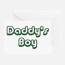 Daddy's Boy Greeting Card