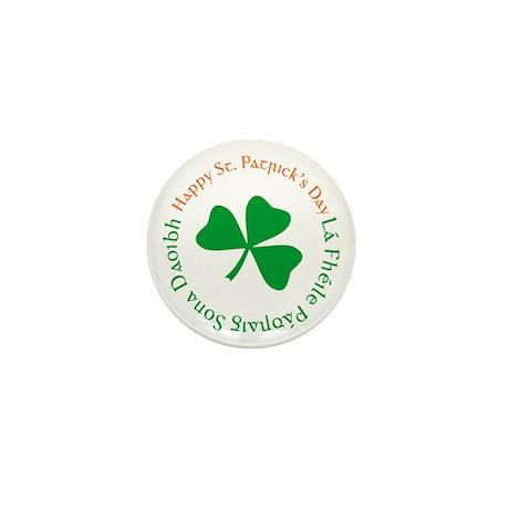 Happy St. Patrick's Day Mini Button (100 pack)