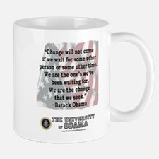 "Obama ""Change"" Quote Mug"