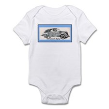 """1936 Lincoln Zephyr"" Infant Bodysuit"