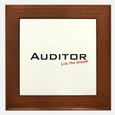 Auditor / Dream! Framed Tile