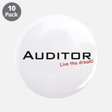 "Auditor / Dream! 3.5"" Button (10 pack)"
