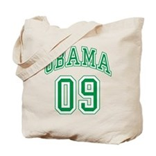 Barack Obama 09 Tote Bag