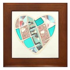 Chrome Heart Framed Tile