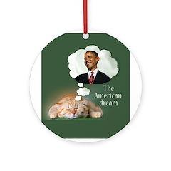 The American Dream Ornament (Round)