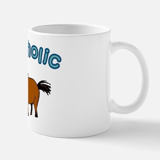 Equiholic. Horse Addict Mug