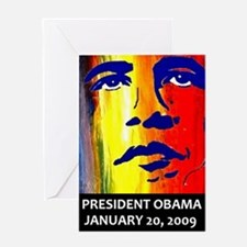 Cool Change obama Greeting Card