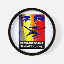 Obama history Wall Clock