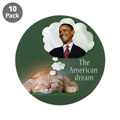 """The American Dream 3.5"""" Button (10 pack)"""