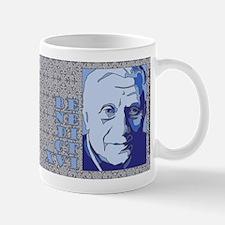New Pope Benedict XVI Blue Mug