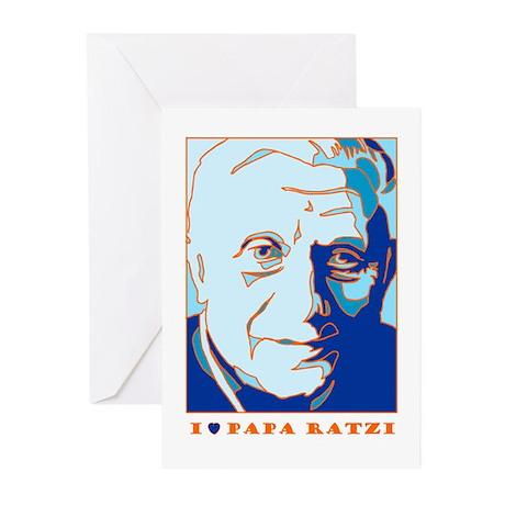Papa Ratzi New Pope Benedict XVI Greeting Cards (P
