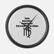 Virgo Large Wall Clock