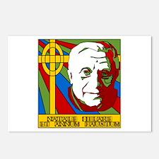 Pope Benedict XVI Catholic Christmas Postcards (Pa