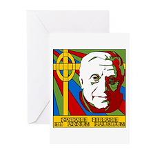 Pope Benedict XVI Catholic Christmas Greeting Card