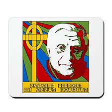 Pope Benedict XVI Catholic Christmas Mousepad