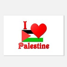 I Love Palestine #4 Postcards (Package of 8)