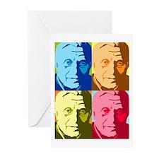 Paparatzi Pope Art - Pop Art Greeting Cards (Packa