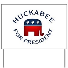 Huckabee for President Yard Sign