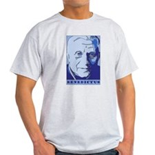New Pope Benedict Father's Da Ash Grey T-Shirt
