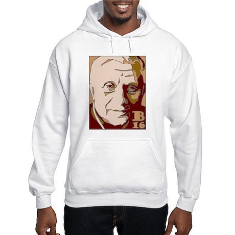 New Pope Benedict Father's Da Hooded Sweatshirt