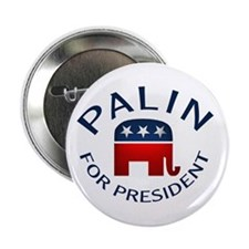 """Palin for President 2.25"""" Button"""