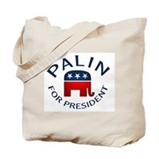 Palin for President Tote Bag