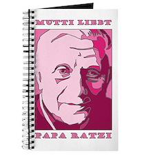 Mutti Liebt Papa Ratzi Mother Journal