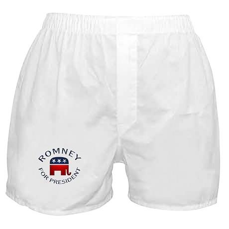 Romey for President Boxer Shorts