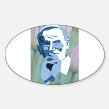 Pope John Paul II Second Oval Decal