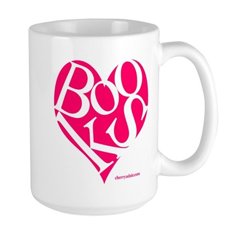 I Love Books! Large Mug