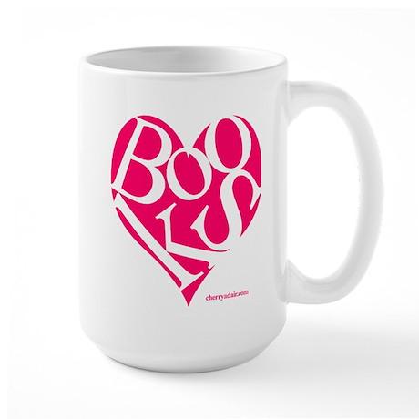 I Love Books! Large Mug