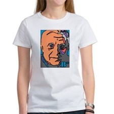 New Pope Papa Ratzi Stain Glass Tee