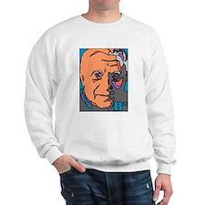 New Pope Papa Ratzi Stain Glass Sweatshirt