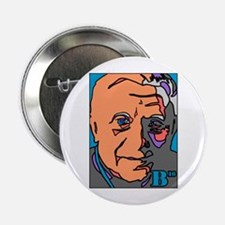New Pope Papa Ratzi Stain Glass Button