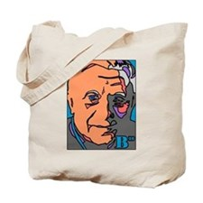 New Pope Papa Ratzi Stain Glass Tote Bag
