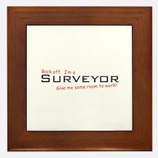 I'm a Surveyor Framed Tile