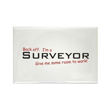 I'm a Surveyor Rectangle Magnet (100 pack)